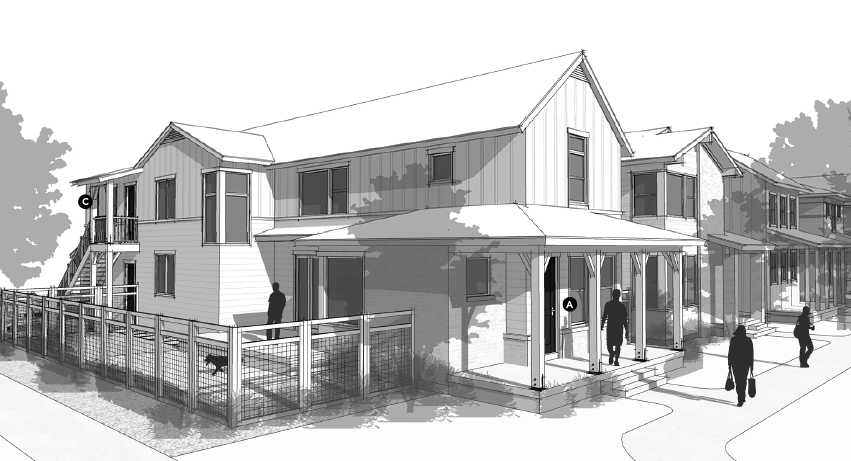 house review-DTJ-narrow lot-elevation