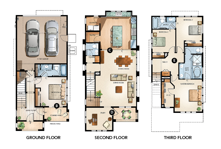 house review-Dahlin-plan 2-elevation