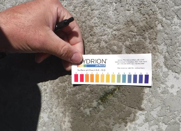 test stucco ph to ensure paint job quality