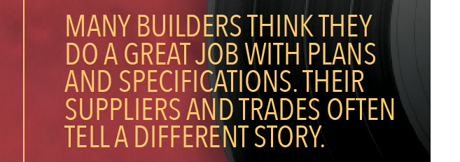 Scott Sedam quote about builders not changing their ways