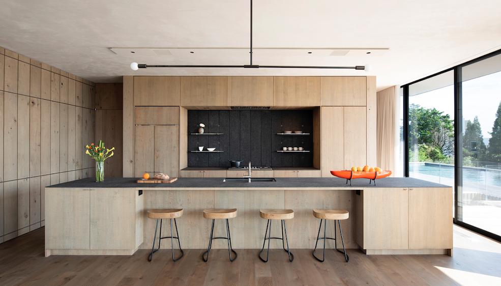 2019 Professional Builder Design Awards Gold Custom Home Kiht han kitchen