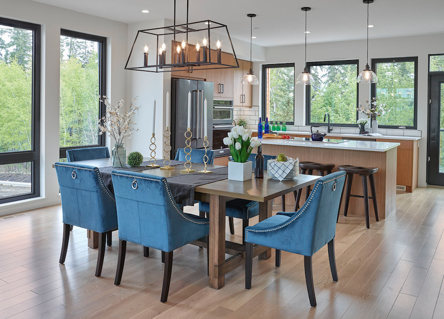2019 Professional Design Awards Gold Infill dining space