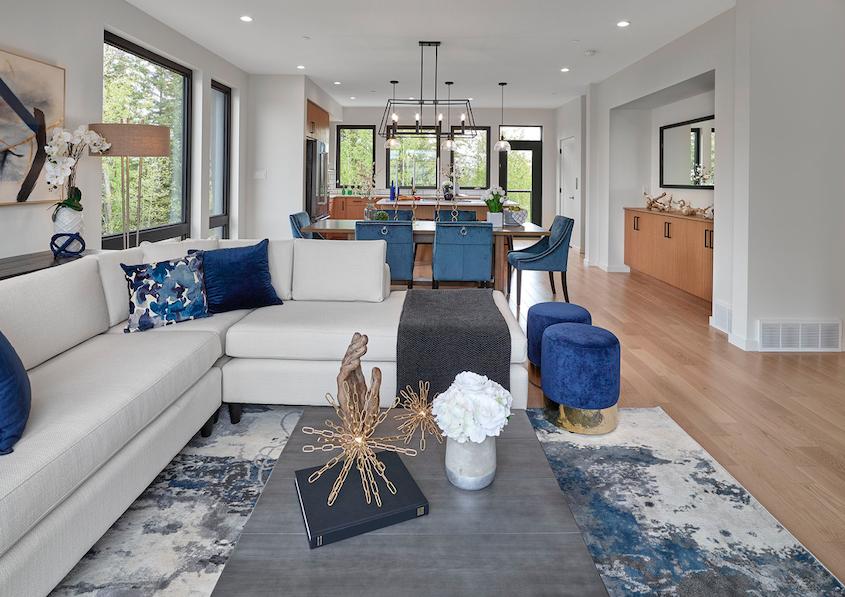 2019 Professional Design Awards Gold Infill living room