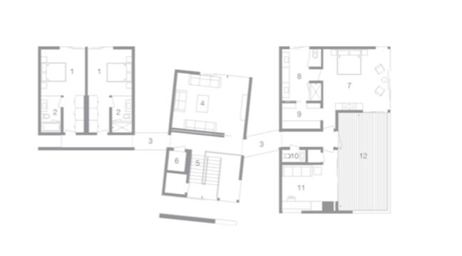 2019 Professional Builder Design Awards Gold Custom Home Kiht han second floor plan