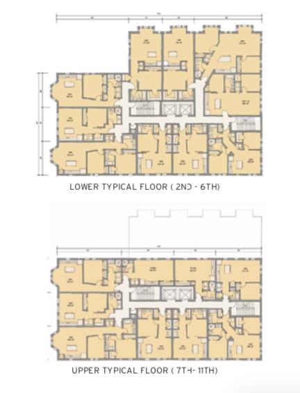 2019 Professional Builder Design Awards Gold Multifamily 10 Eleven floor plans