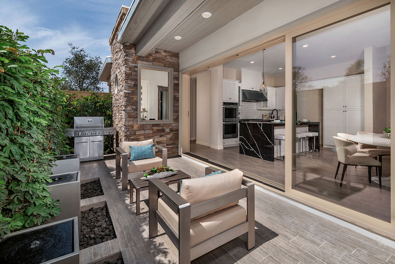 2019 Professional Builder Design Awards honorable mention multifamily outdoor living