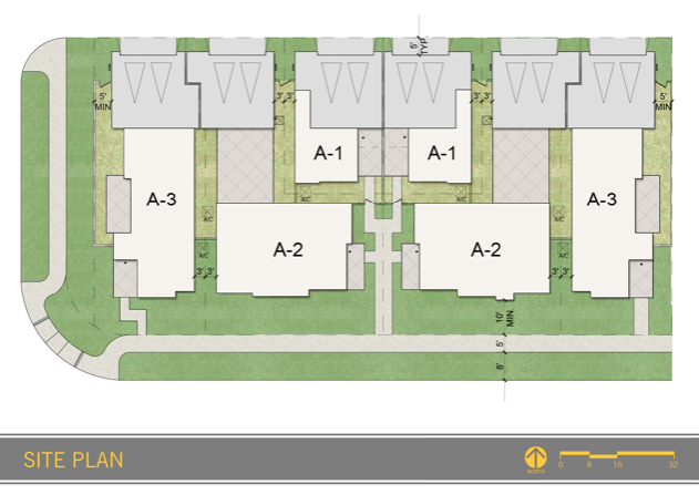 2019 Professional Builder Design Awards honorable mention multifamily site plan