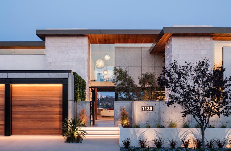 2019 Professional Builder Design Awards Silver Custom Home exterior entry