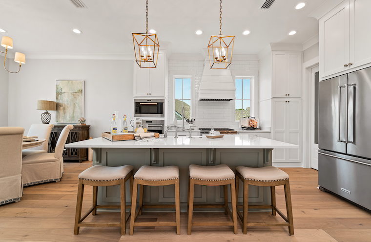 2019 Professional Builder Design Awards Silver Single Family 2001 to 3100 sf kitchen
