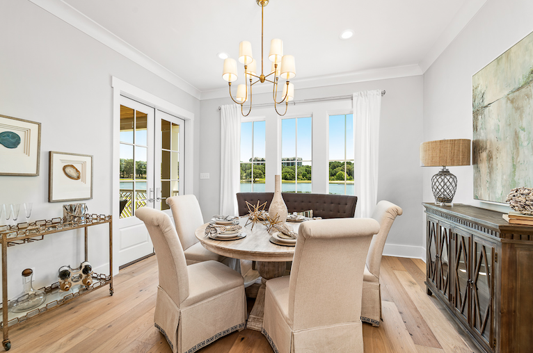 2019 Professional Builder Design Awards Silver Single Family 2001 to 3100 sf dining