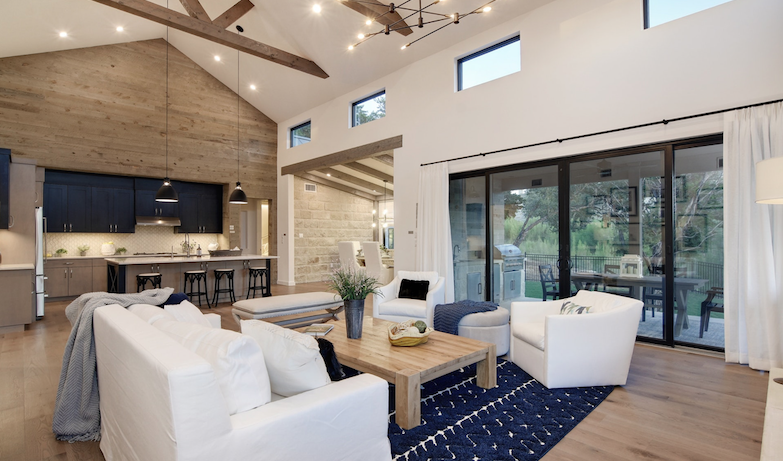 2019 Professional Builder Design Awards Silver Single Family 2001 to 3100 sf living area and kitchen