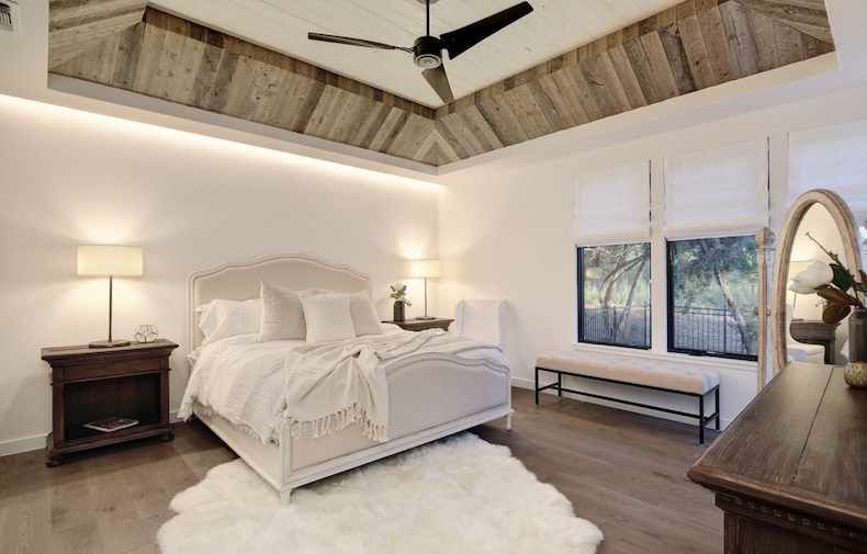 2019 Professional Builder Design Awards Silver Single Family 2001 to 3100 sf bedroom