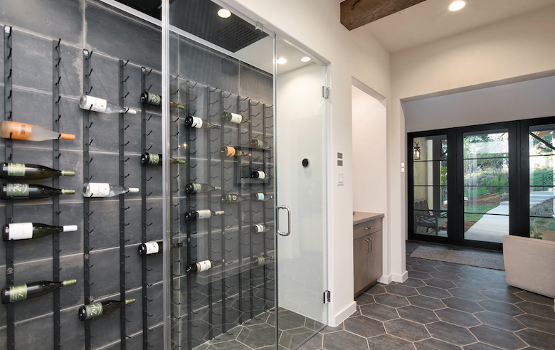 2019 Professional Builder Design Awards Silver Single Family 2001 to 3100 sf wine storage