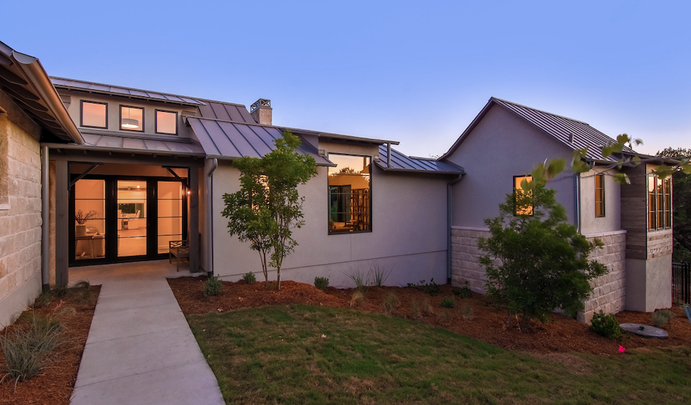 2019 Professional Builder Design Awards Silver Single Family 2001 to 3100 sf exterior view