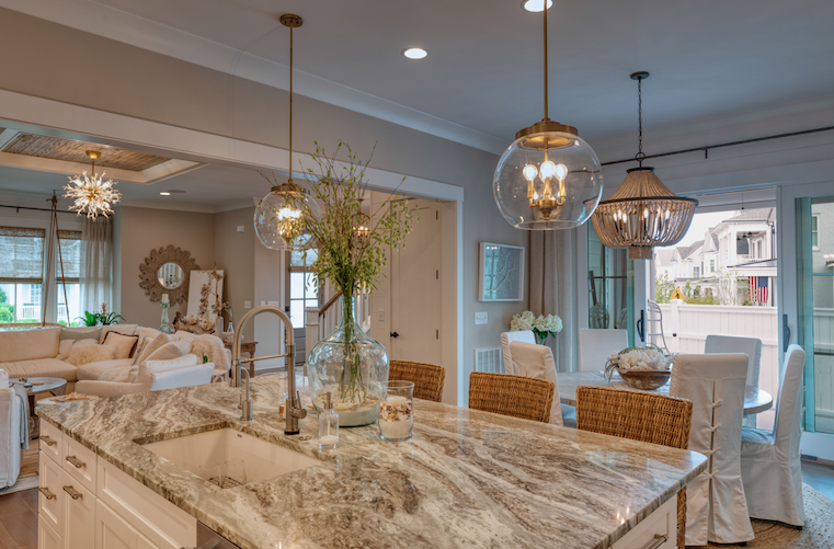 2019 Professional Builder Design Awards Silver single family over 3100 sf kitchen and dining
