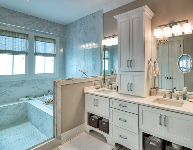 2019 Professional Builder Design Awards Silver single family over 3100 sf bathroom
