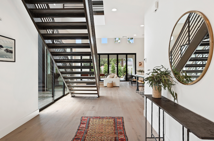 2019 Professional Builder Design Awards Silver Single Family over 3100 sf Miraval II interior stair