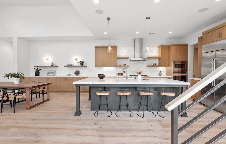 2019 Professional Builder Design Awards Silver Single Family over 3100 sf Miraval II kitchen