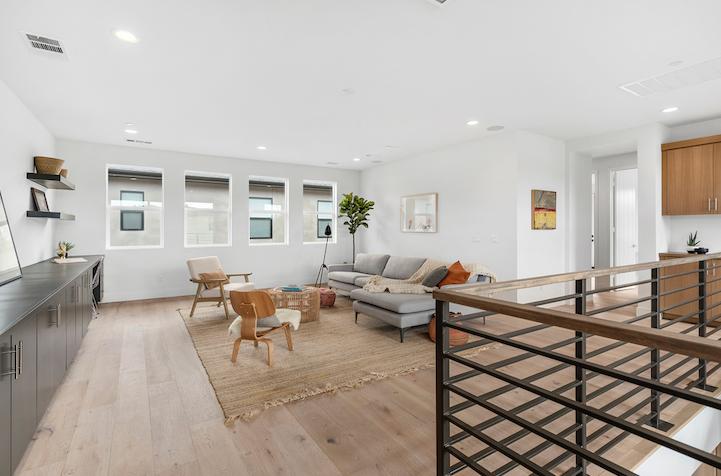 2019 Professional Builder Design Awards Silver Single Family over 3100 sf Miraval II upper level flex space