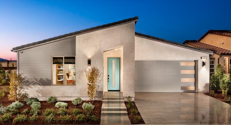 2019 Professional Builder Design Awards Silver Single Family home under 2000 sf exterior