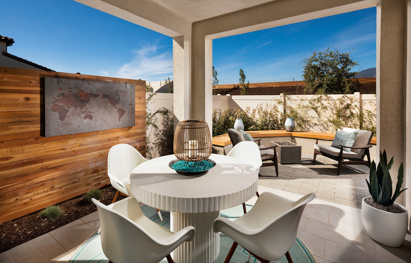 2019 Professional Builder Design Awards Silver Single Family home under 2000sf outdoor living