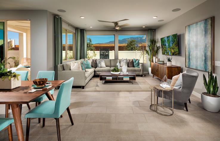 2019 Professional Builder Design Awards Silver Single Family home under 2000sf living room