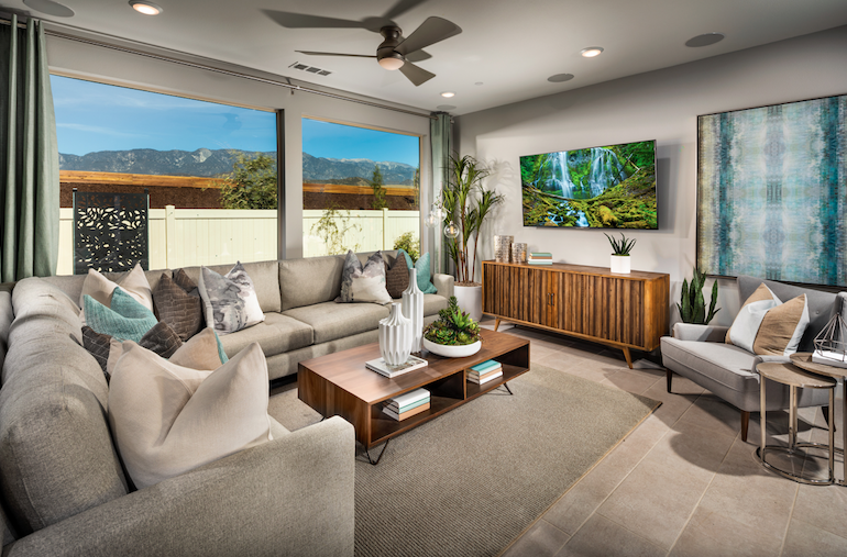 2019 Professional Builder Design Awards Silver Single Family home under 2000sf living space