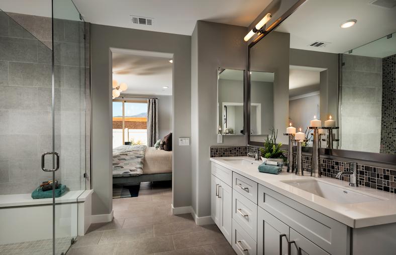 2019 Professional Builder Design Awards Silver Single Family home under 2000sf bathroom