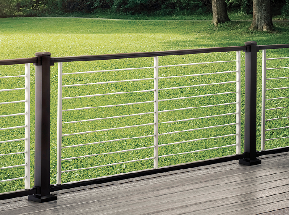 2019 top 100 products-outdoor living-Trex-Signature Aluminum Rod Rail