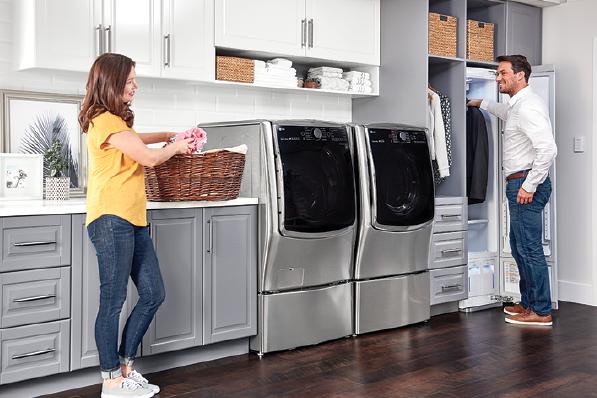 2019 top 100-appliances-LG-Ultimate Laundry line
