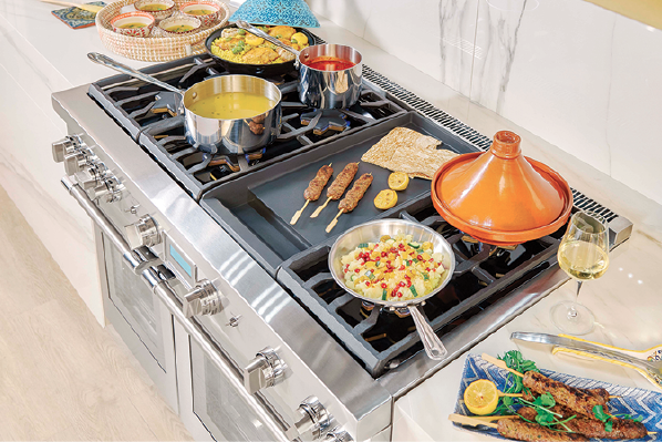 2019 top 100-appliances-Thermador-Pro Grand Steam Range