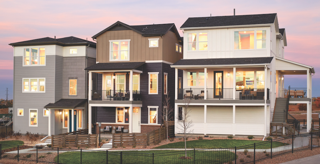 The Crescendo Collection at Central Park, in Colorado, is Shea Homes' vision of an 'urbanesque' homebuying experience.