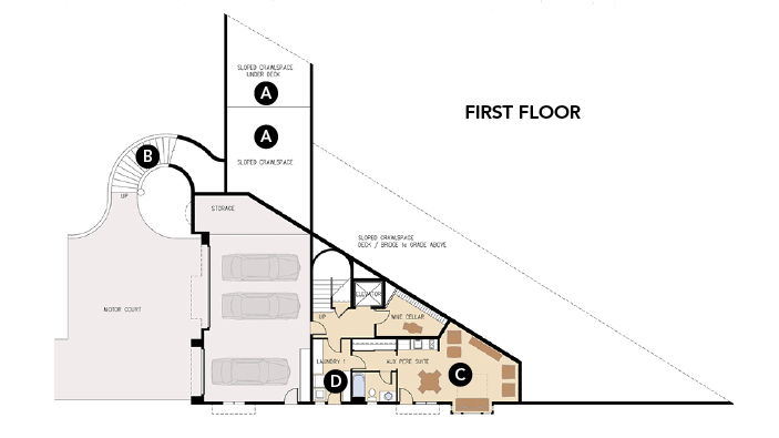 Captivating House Review Luxury Homes EDI International_Silver Lane First Floor Plan