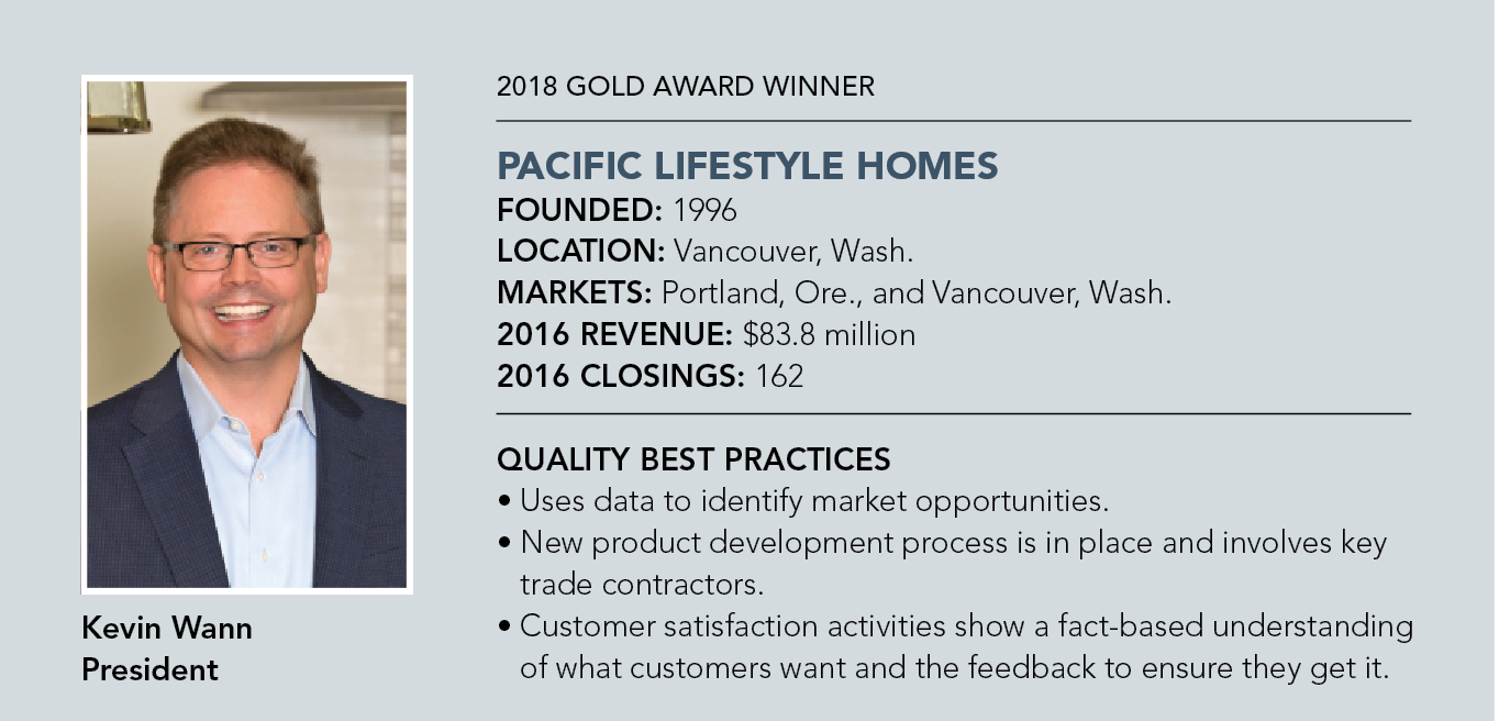 Pacific Lifestyle Homes fact box