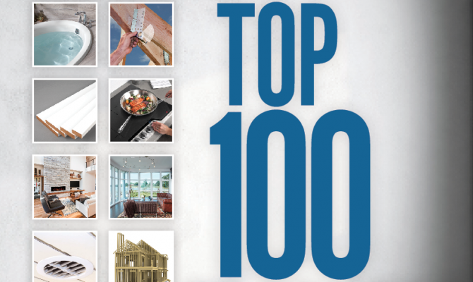 2018 Top 100 Products_Pro Builder