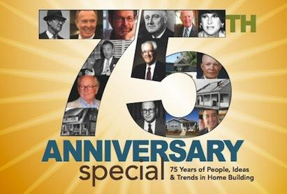 75 years of people, ideas and trends in home building