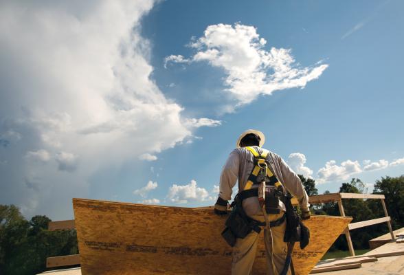 Man on construction jobsite (Photo credit: LP)