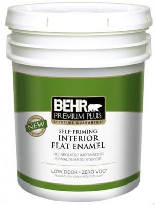 Behr Premium Plus Self Priming Zero Voc Interior Paint
