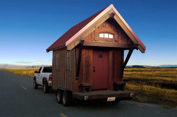 Little homes like those by Four Lights Tiny House Co. fill a key market niche