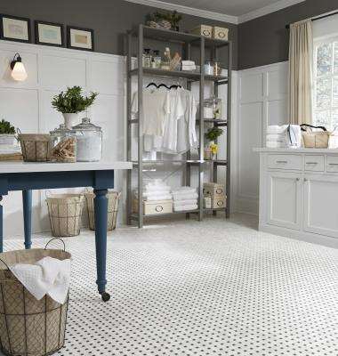Resilient flooring by Mannington