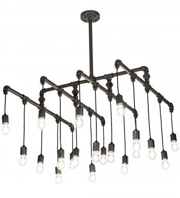 Meyda Custom Lighting's new collection of decorative fixtures, PipeDream