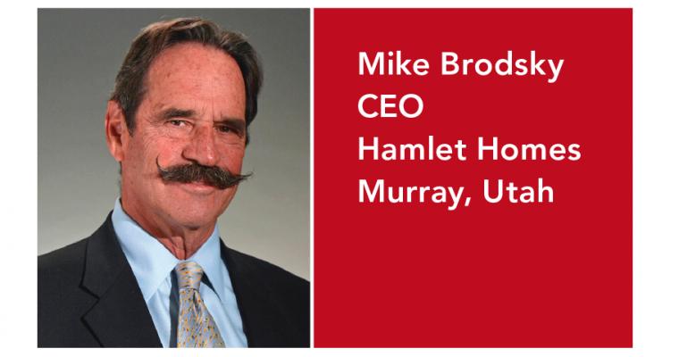 Executive Corner_Mike Brodksy_Hamlet Homes founder_succession