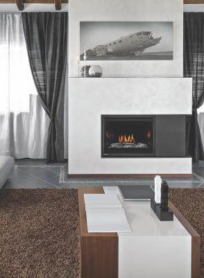 The full-load deluxe version of the HLB34-2 from Montigo features a standard remote control and fan kit so users can accurately control the heat in a space.