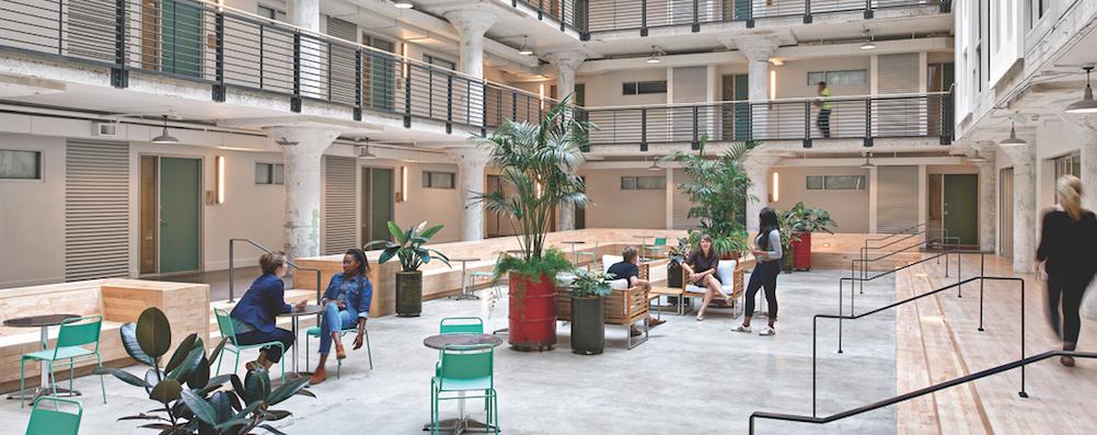 Parcels at Concourse, Memphis, atrium