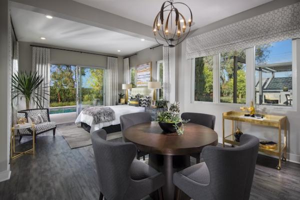 Interior of Pardee Homes' Granny suite at Artesana