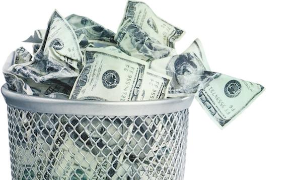 process inefficiencies_trash can of money_lost revenue