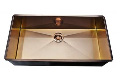 ROHLu0027s New Line Of Stainless Steel And Stainless Copper Sinks Are  Constructed Of High Grade Stainless Steel, Providing A Commercial Grade Sink  System That ...