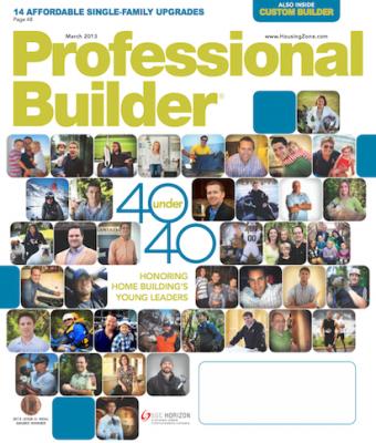 Professional Builder 2013 40 Under 40 Awards   Professional