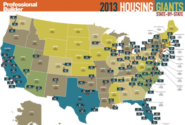Professional Builder's 2013 Housing Giants | Professional Builder on