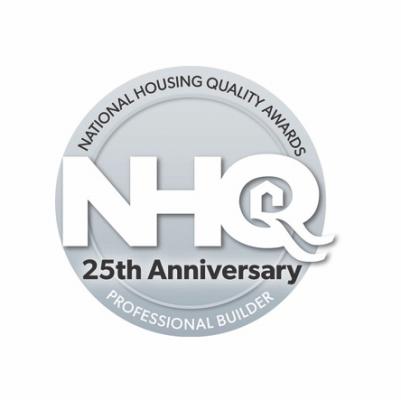 National Housing Quality Award 25th anniversary logo